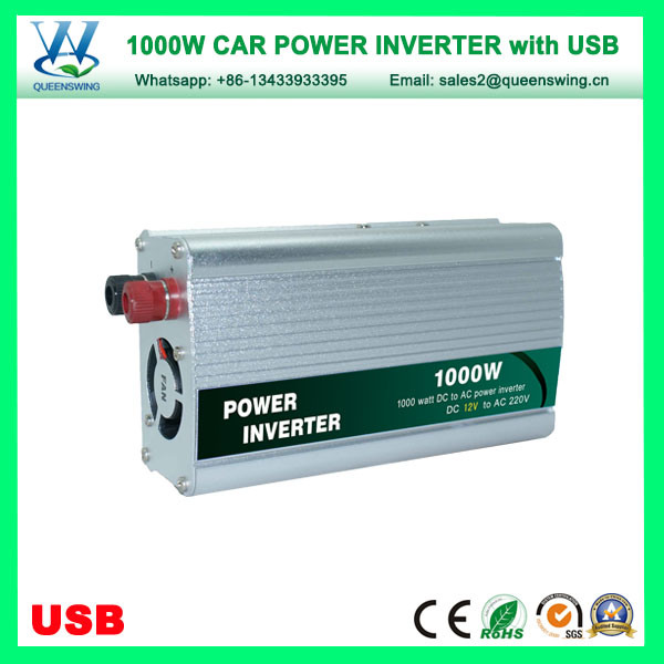 1000W USB Car Power Inverter with external fuse