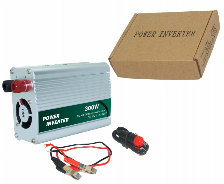 Micro 300W Portable Auto Car Power Inverter