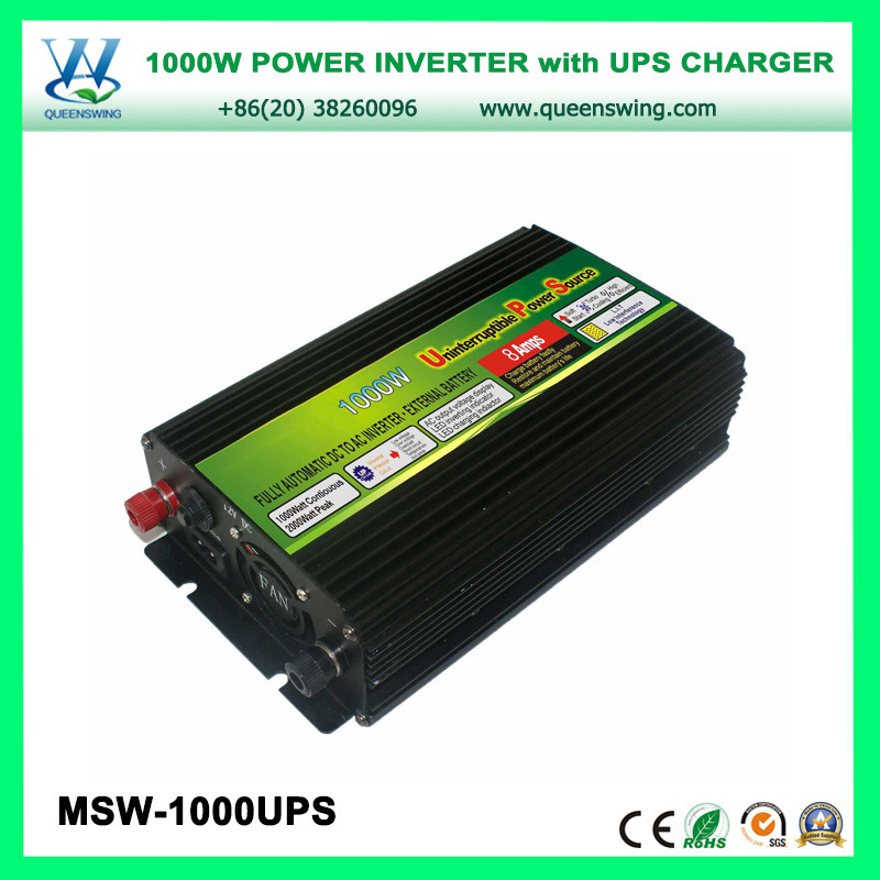 1000W UPS Power Inverter Charger with digital display