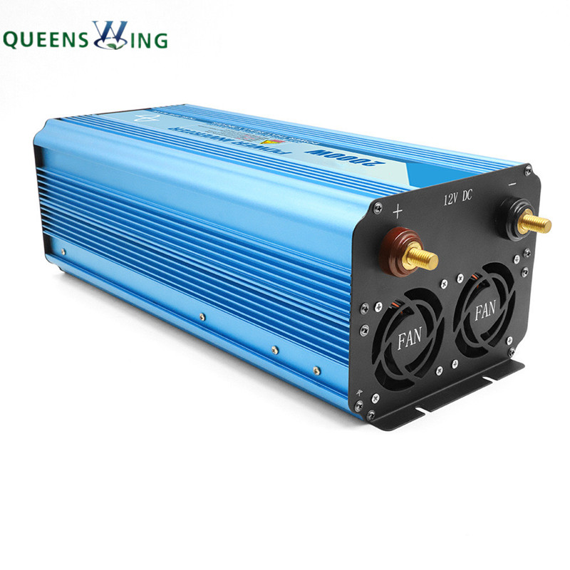 Fully 3000W LED or LCD Pure Sine Wave Power Inverter