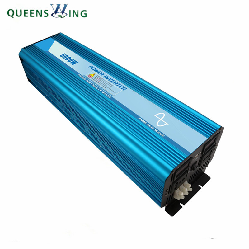 5000W Pure Sine Wave Power Inverter with Digital Display
