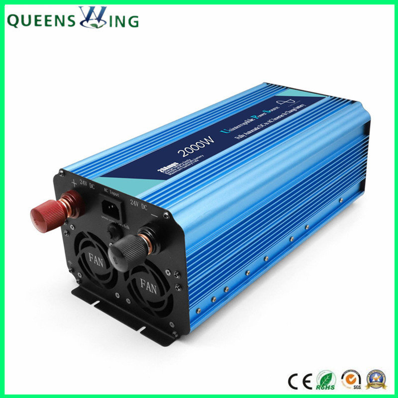 2000W Pure Sine Wave Inverter with UPS Charger