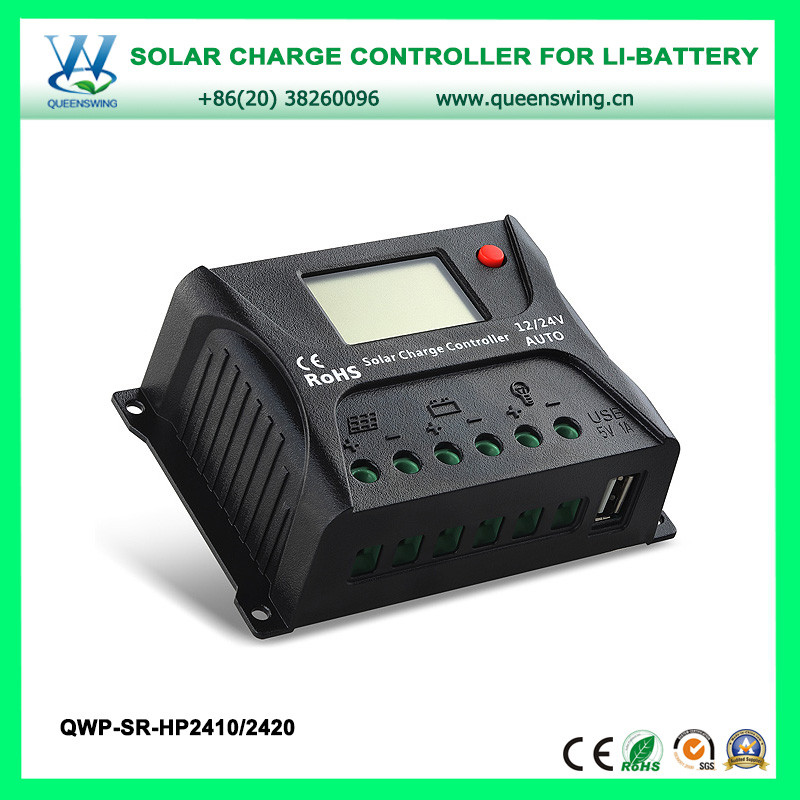 Home Solar System Charge Controller with LCD & USB