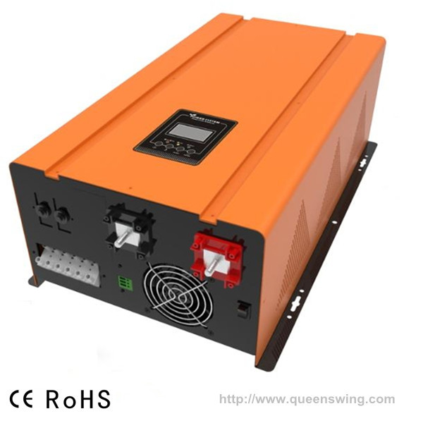24VDC 220VAC 2kw UPS Pure Sine Wave Inverter with 50A AC Charger