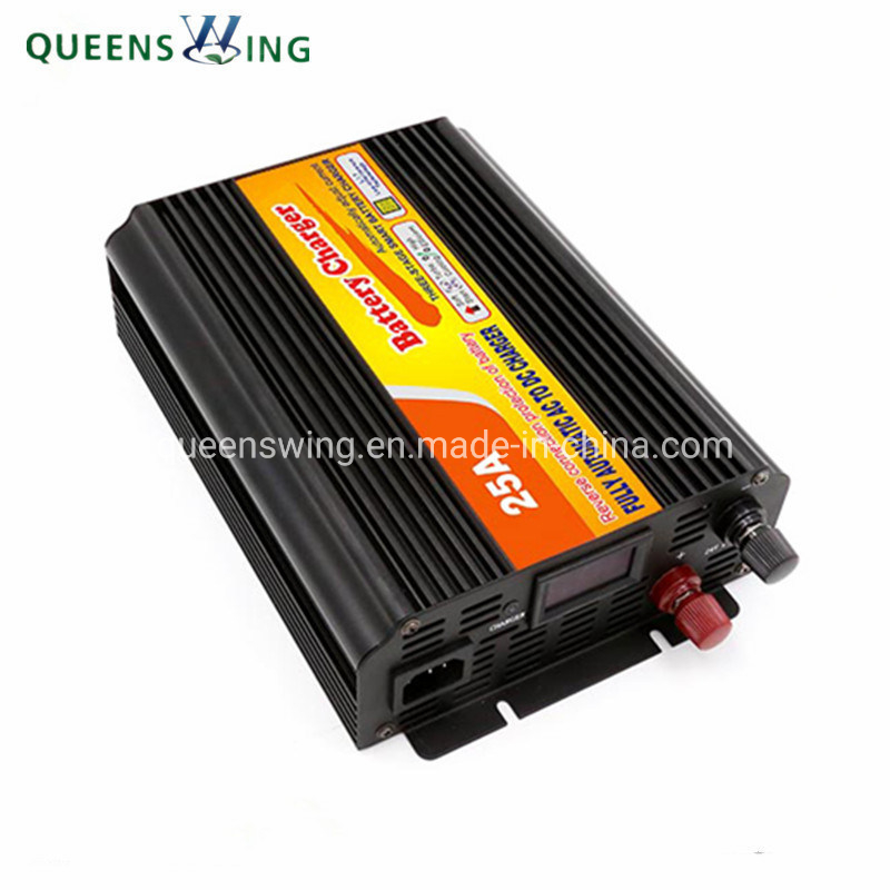 24V 25A Gel/Lead Acid Rechargeable Battery Charger (QW-25A)
