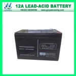 High Quality 12V 12A VRLA Battery