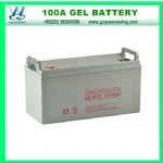 Maintain Free Gel Solar Battery 12V100ah for Solar System