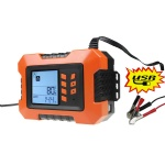 2A 4A 8A 10A 12A battery charger and tester for car
